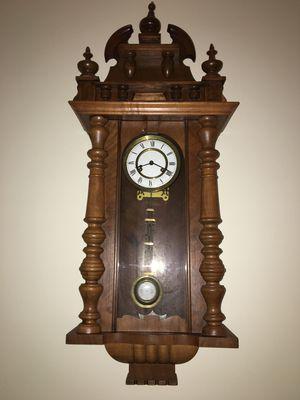 Gustav Becker Early 1900's Wall clock for Sale in Fairfax, VA