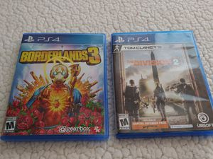 Borderlands 3 and The Division 2 for Sale in Scottsdale, AZ