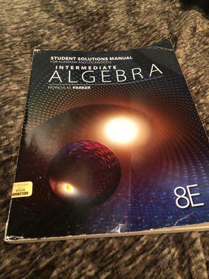 Intermediate Algebra book for Sale in Downey, CA