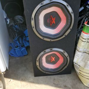 Speakers 10 And Amplifier for Sale in Antioch, CA