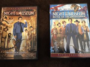 Night at the museum dvds for Sale in Greenville, SC