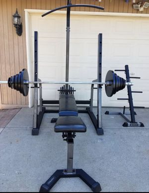 Olympic Weight Set for Sale in Riverside, CA