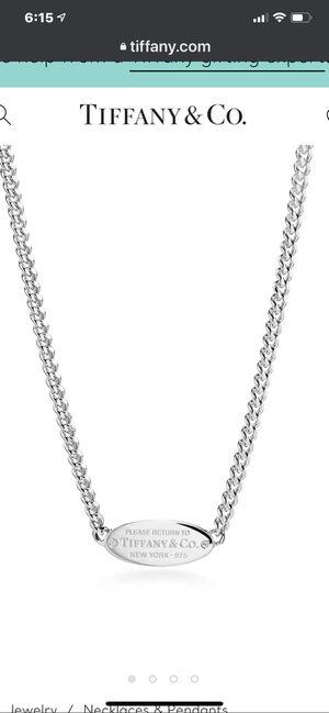 Return to Tiffany Necklace for Sale in Pico Rivera, CA