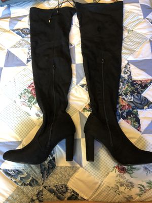 Thigh high stretch boots for Sale in Fremont, CA