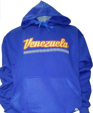 VENEZUELA ROYAL HOODIE PRINTED BASEBALL BALL STITCH for Sale in Miami, FL