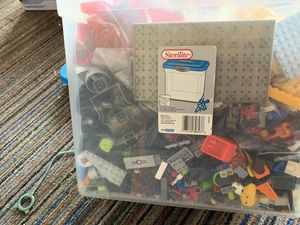 Big box of Legos for Sale in Fresno, CA