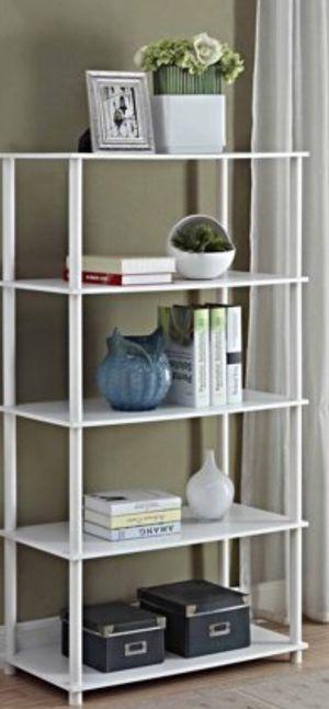 New!! 8 cube organizer, bookcase, bookshelves, organizer, living room furniture, storage unit , white for Sale in Phoenix, AZ