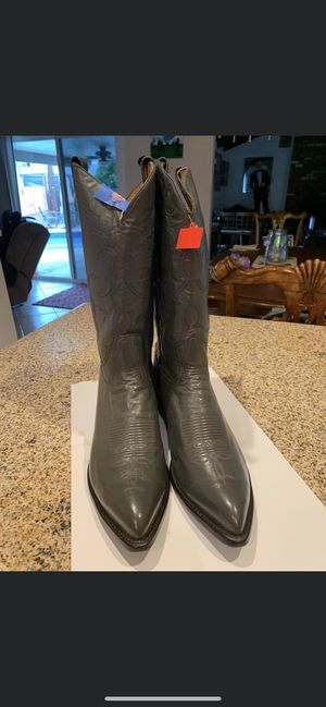 Tony Lama leather boots size 11.5d used once for Sale in Anaheim, CA