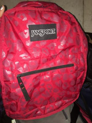 Jansport Reversible Backpack with front pocket for Sale in Romeoville, IL