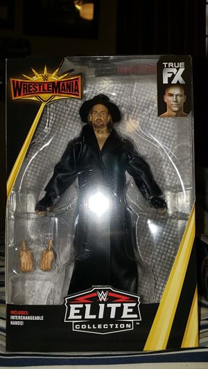 Wwe undertaker action figure for Sale in San Antonio, TX
