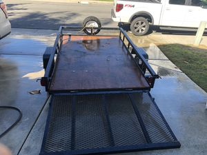 5by8 foot flatbed trailer for Sale in San Diego, CA