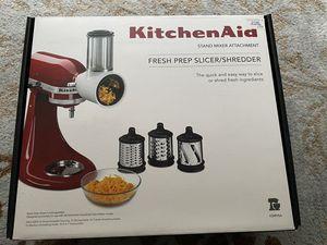 Kitchenaid mixer attachment - fresh prep slicer /shredder attachment NEW for Sale in Sammamish, WA