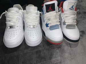 Air force 1 Air jordan for Sale in San Antonio, TX