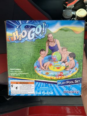 H20 Go Play Swimming Pool Set for Sale in Elk Grove, CA