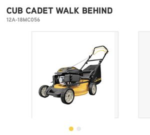 Cub Cadet 19in lawn mower/mulcher!! Only used a few times! for Sale in Alexandria, VA