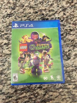 LEGO DC Supervillains for PS4 for Sale in Atlanta, GA