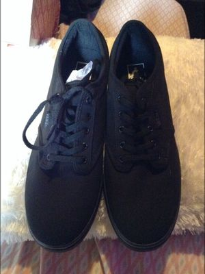 Brand new women vans size 10.5 black shoes deal offer smoke free home for Sale in Whittier, CA