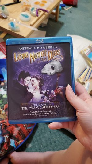 Love Never Dies blu-ray for Sale in Matthews, NC