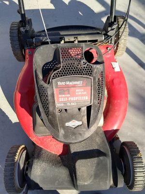 Yard machines lawn mower for Sale in Las Vegas, NV