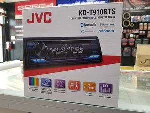 JVC single DIN CD/BLUETOOTH RADIO for Sale in Tampa, FL