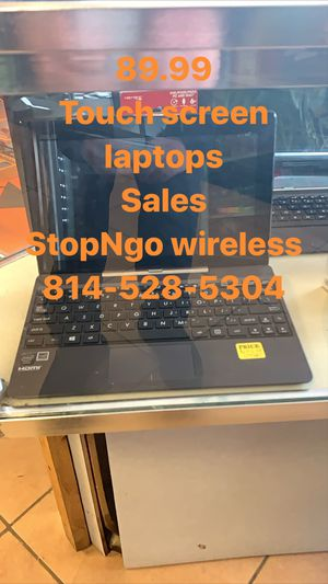 Touch screen laptops 89.99 sale for Sale in Erie, PA