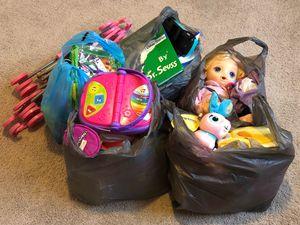 5 Bags of Kids Toys for Sale in Hillsborough, NC