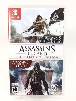 Nintendo Switch Assassin's Creed The Rebel Collection Video Game for Sale in Auburn, WA