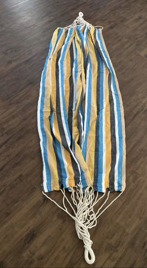 New, Beautiful Striped Hammock for Sale in Apple Valley, CA