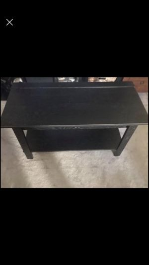 "Black TV Stand/shelf 21 1/2"" h 35 1/2"" w 16"" d for Sale in San Diego, CA"