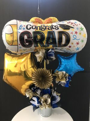 Graduation balloon arrangements ! For celebrations and as gifts for Sale in Pinole, CA