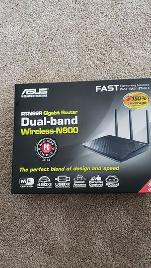 Brand new Asus RT-N66R Dual Band Router for Sale in Menifee, CA