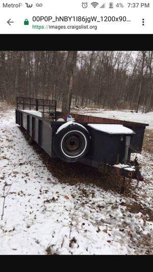 "26"" utility trailer for Sale in Roseville, MI"
