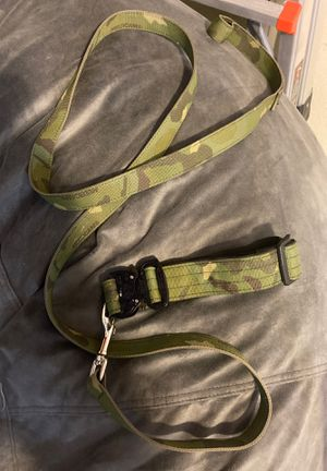 TactiPup Camo Dog Collar and Leash for Sale in Coto de Caza, CA