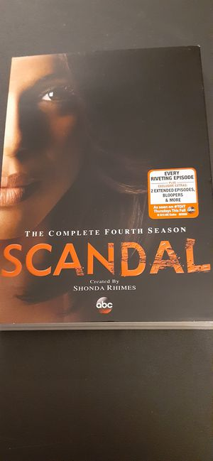 SCANDAL Complete Season 4 (DVD) for Sale in Lewisville, TX