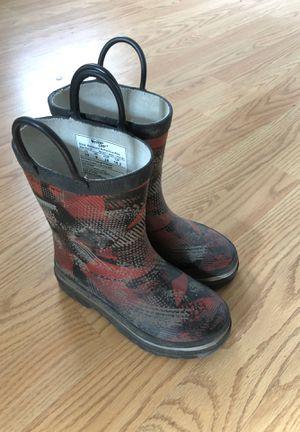 Kids rain boots size 10 for Sale in Fort Belvoir, VA