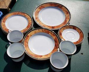 Vintage Wood Garland China Set for Sale in Hampton, VA