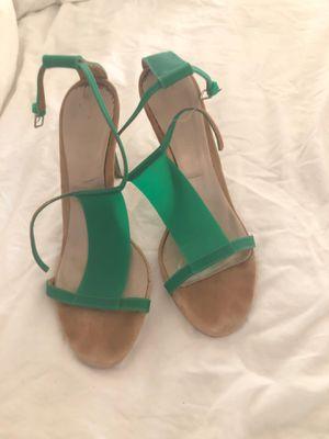 Burberry High-heel Sandals - green, size 39 (EU) for Sale in Washington, DC