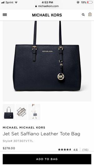 Michael Kors handbag in color admiral PRICE NEGOTIABLE for Sale in Toms River, NJ