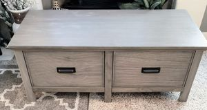 Industrial Rustic 2-Large Drawer Table for Sale in Arvada, CO