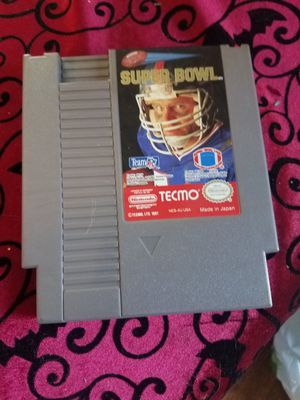 Nintendo Super Bowl game for Sale in San Diego, CA