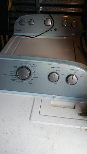 Dryer and washer whisper semi-new 299 set for Sale in Salt Lake City, UT