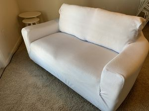 White couch for Sale in Richmond, TX