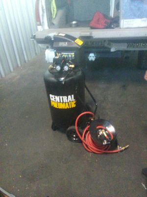 AIR COMPRESSOR **used only once for a project and now he needs space. Central pneumatic 2.5 horsepower 21 gallon for Sale in San Ramon, CA