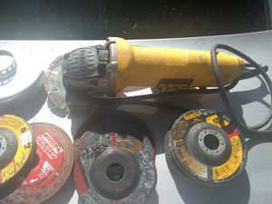 Dewalt 115-DWE4012 4.5 in. Small Angle Grinder for Sale in Richmond, CA