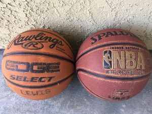 2 Basketballs. for Sale in Dana Point, CA
