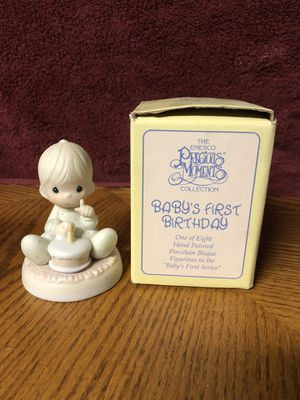 Precious Moments Babies First Birthday for Sale in New Lenox, IL