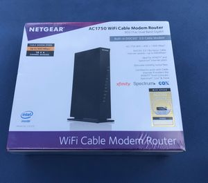Wifi cable modem Router NETGEAR for Sale in Aventura, FL
