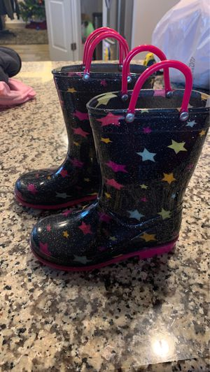 Girls rain boots for Sale in Raleigh, NC