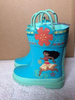 MOANA RAIN BOOTS!! for Sale in Beaverton,  OR