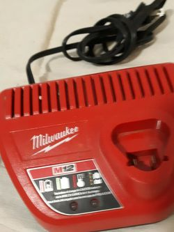 Milwaukee M12 Charger for Sale in Tacoma,  WA